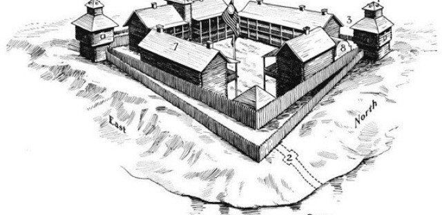 Fort Dearborn, 1812
