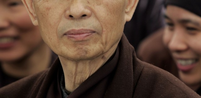 On Being : Thich Nhat Hanh, Cheri Maples, and Larry Ward — Being Peace in a World of Trauma Image