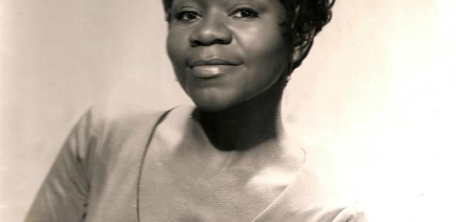 Geraldine de Haas as a jazz vocalist