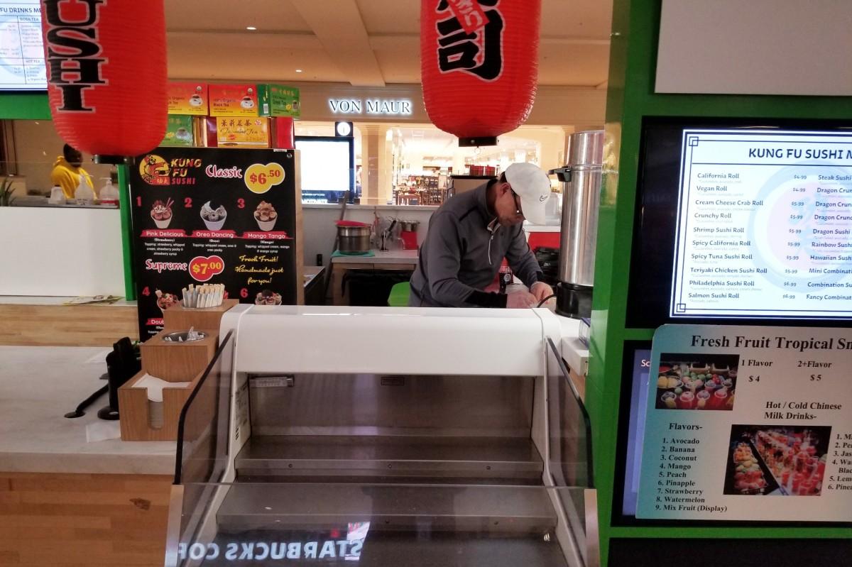 Murphy Liang, owner of Kung Fu Sushi