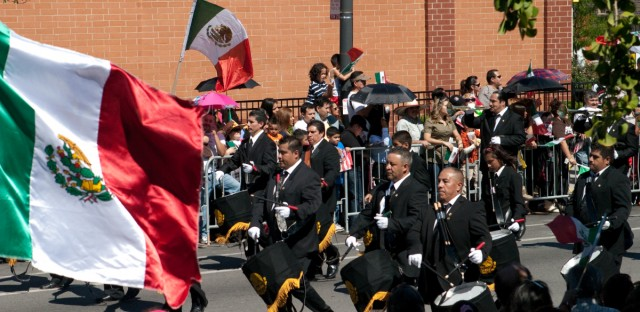 A 2010 file photo of the 26th Street Mexican Independence Parade in Chicago.