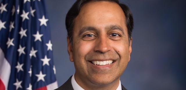 Democratic Congressman Raja Krishnamoorthi