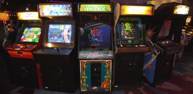 Industry-watchers say the number of arcades in the U.S. has been growing over the past five years, and that's creating demand for new, but old-fashioned games.
