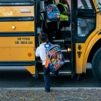 About 62,000 Chicago Public Schools children bypass their neighborhood school each year to attend magnet and test-in schools. Many of them are bussed. Manuel Martinez/WBEZ