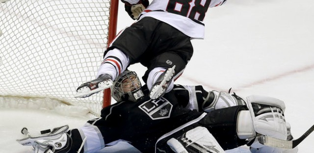 Blackhawks steals one in LA and Chicago baseball hope they picked some stars