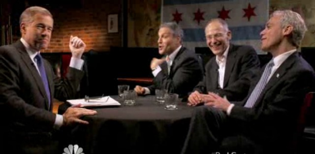 Did NBC's Brian Williams ambush the Emanuel brothers?