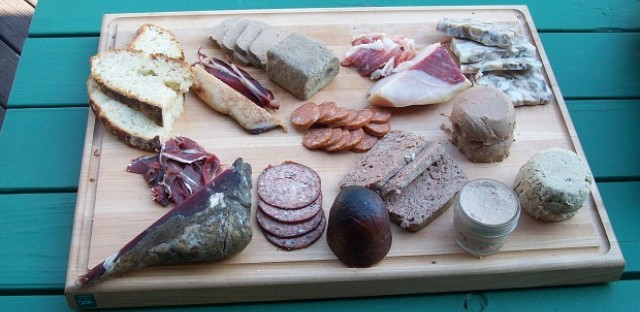 Meat Camp charcuterie board