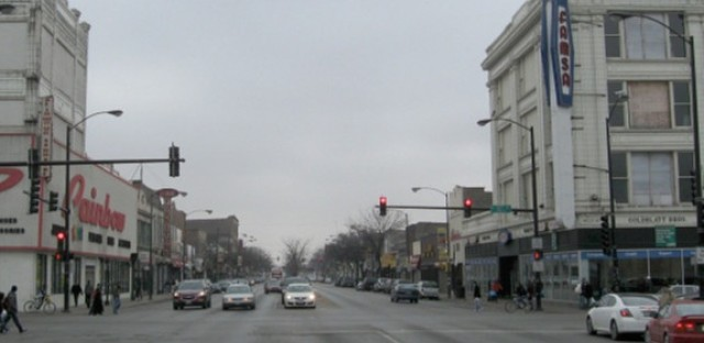 Ashland Avenue at 47th Street--view south