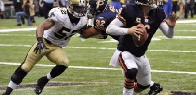 All Saints Day: Brees scares Bears (great headline, huh? I should write for newspapers)