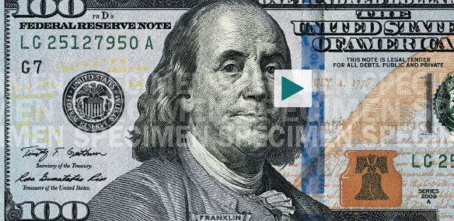 Explore The High-Tech Features In The Newest $100 Bills