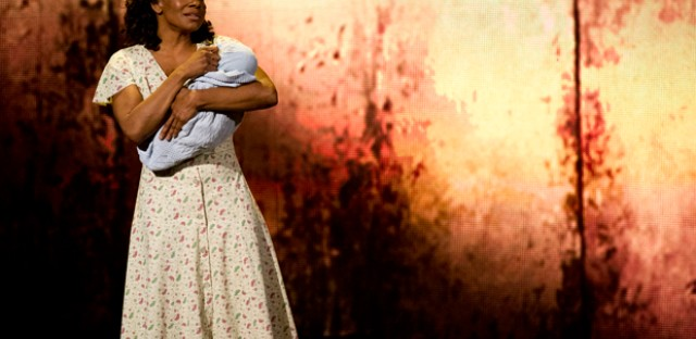 Audra McDonald from 'The Gershwins' Porgy and Bess,' performs at the 66th Annual Tony Awards on Sunday. The production won a Tony Award for best revival of a musical.