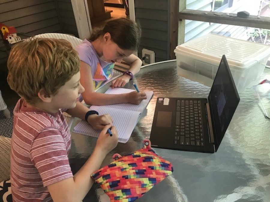 Home Schooling Interest Skyrockets Amid Covid 19 Wbez Chicago