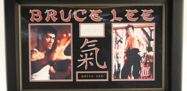 Bruce Lee memorabilia that Jesse Jackson, Jr. purchased with campaign dollars.