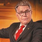 Sen. Al Franken's new book is facetiously titled Giant Of The Senate.