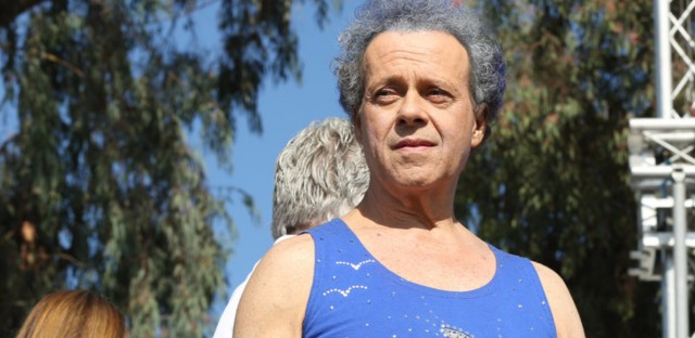 Richard Simmons onstage in October 2013.