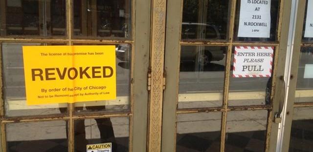 Congress Theater liquor license revoked