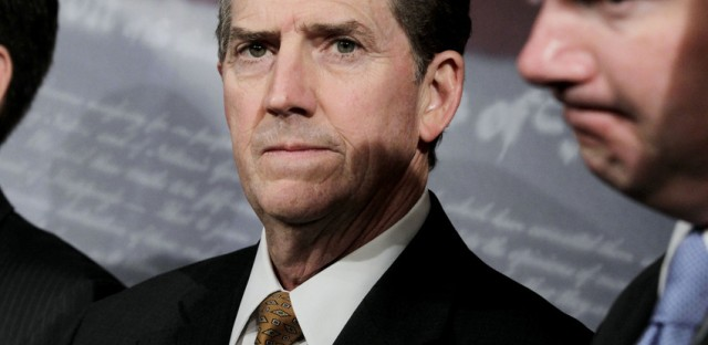 Jim DeMint will leave the U.S. Senate to head the conservative Heritage Foundation.