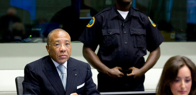 Former Liberian President Charles Taylor was convicted of crimes against humanity last week.