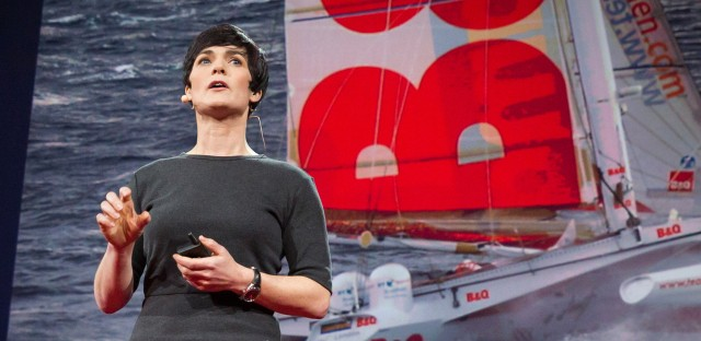 """""""I made my mind up there and then that one day, somehow, I was going to sail around the world."""" — Dame Ellen MacArthur"""