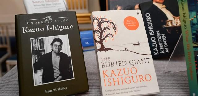 British Writer Kazuo Ishiguro Wins Nobel Prize In Literature