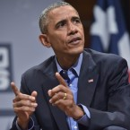 President Obama speaks during the South by Southwest Interactive conference in Austin, Texas, on Friday.