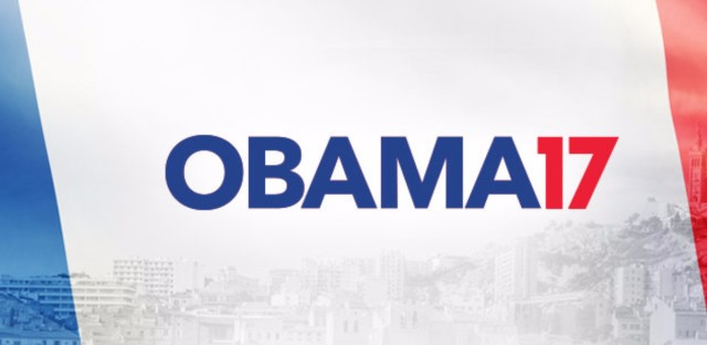 """The """"Obama 2017"""" campaign is attempting to """"persuade"""" the former U.S. president to run for office again — in France."""
