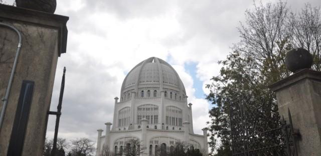 The Bahá'í House of Worship in Wilmette.