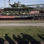 NATO wrestles with Russia over Crimea