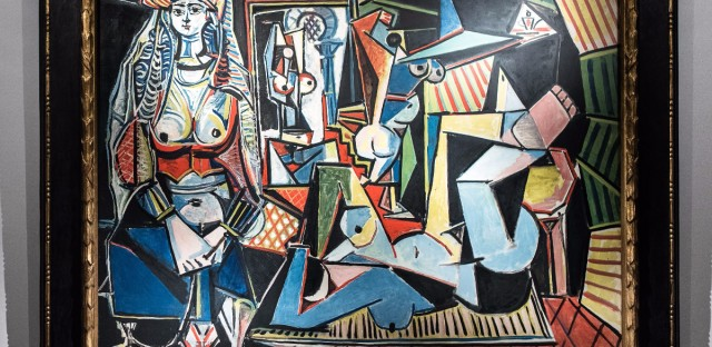 In 1997, Pablo Picasso's Women of Algiers (Version O) — shown here at Christie's in Hong Kong — was part of a groundbreaking art auction that sent prices soaring.