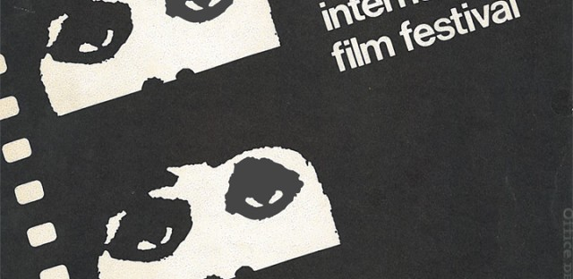 The Chicago International Film Festival Program, 1967. Those ubiquitous eyes finally appear for the festival's third outing. Click to enlarge.