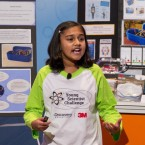 "Gitanjali Rao, 11, says she was appalled by the drinking water crisis in Flint, Mich. — so she designed a device to test for lead faster. She was named ""America's Top Young Scientist"" on Tuesday at the 3M Innovation Center in St. Paul, Minn."
