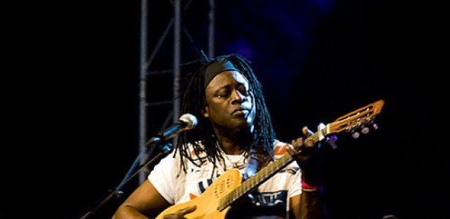 Malian guitarist Habib Koite performs songs from his latest album 'Soo'