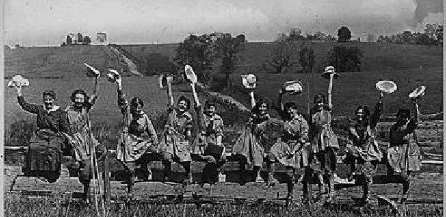 The Woman's Land Army sewed the seeds for social change