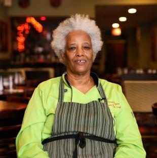 Portrait of chef Zenash Beyene