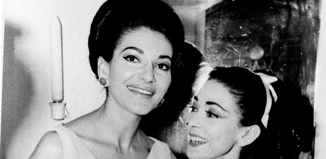 MARIA CALLAS AND MARGOT FONTEYN 1966