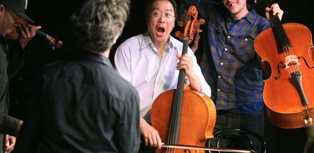 On Being : Yo-Yo Ma — Music Happens Between the Notes Image