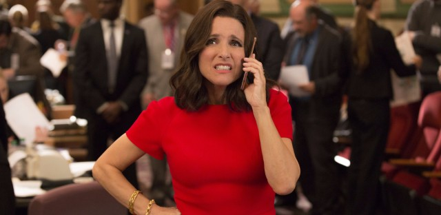 """Julia Louis-Dreyfus has won the """"Outstanding Lead Actress In A Comedy Series"""" Emmy five times for her portrayal of Selina Meyer in HBO's 'Veep.' (Justin M. Lubin/HBO)"""