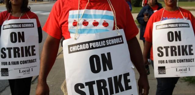 Chicago Teacher Union Strike 2012