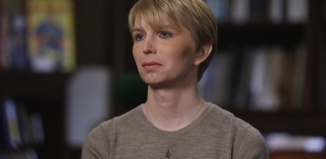 Chelsea Manning was interviewed on the ABC News program Nightline shortly after her release from prison. Manning, a 29-year-old transgender woman, formerly known as Bradley Manning, was convicted of leaking classified information.