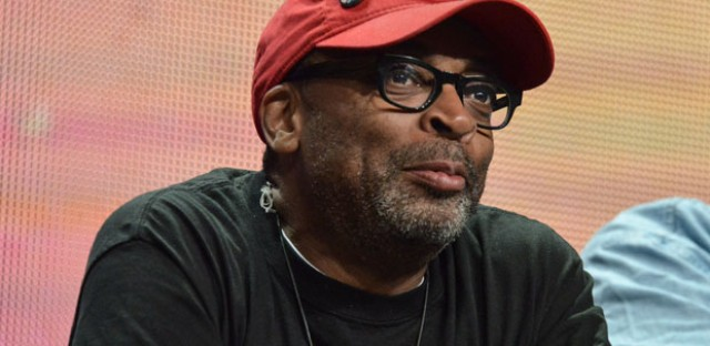 "Spike Lee speaks on stage during the ""Independent Lens"" panel at the the PBS 2014 Summer TCA held at the Beverly Hilton Hotel on Tuesday, July 22, 2014, in Beverly Hills, Calif."