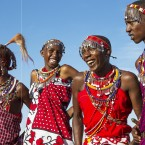 Maasai men in Kenya share a laugh. The way we laugh with others offers clues to our relationship with them.