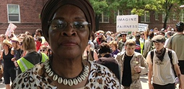 Zakiyyah Muhammad feels the city of Chicago should have made mental health clinics a priority over the NATO summit.