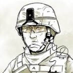 """Maximilian Uriarte wrote and illustrated The White Donkey, a graphic novel that highlights the tedium of deployment. """"I think you can get a lot more nuance, a lot more meaning out of a story that isn't based in some kind of grand battle,"""" he says."""