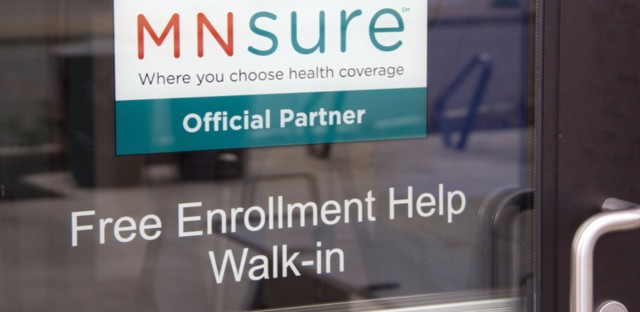 Minnesota's ACA insurance exchange, MNsure, is spending state money this year to hire health care navigators who reach out to consumers to answer questions and help them find the right health plan.