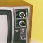 Old Cathode Ray TV Television