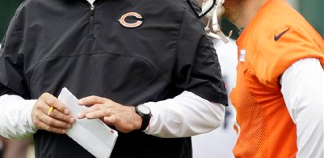 Jay Cutler and Mike Tice must be on the same page to ensure a good season.