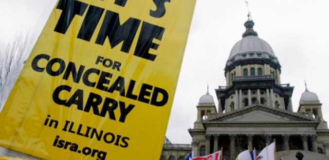 Illinois now only state to ban concealed carry