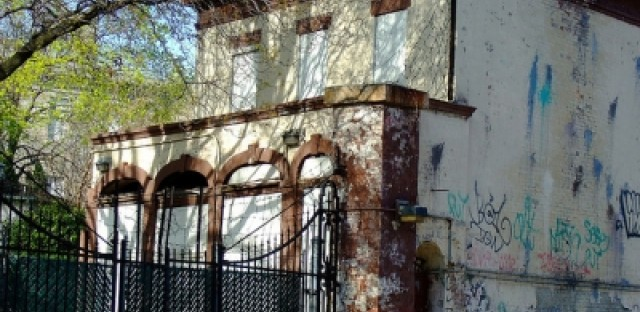 Abandoned properties face both traditional wear and vandalism.
