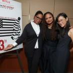 Oprah Winfrey, Ava DuVernay and Netflix VP of Original Documentary Lisa Nishimura