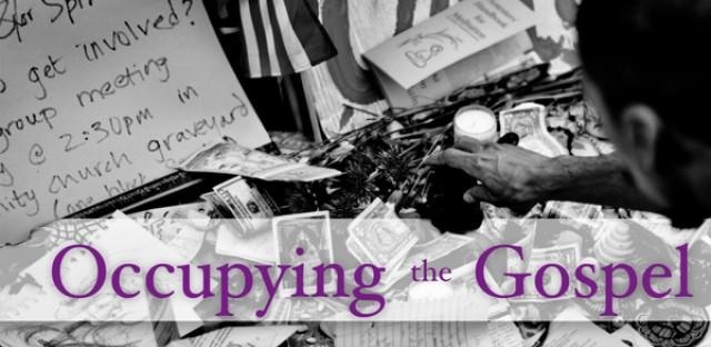 On Being : Paul Raushenbush — Occupying the Gospel Image